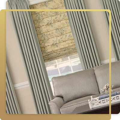 Range of blinds and curtains in UAE